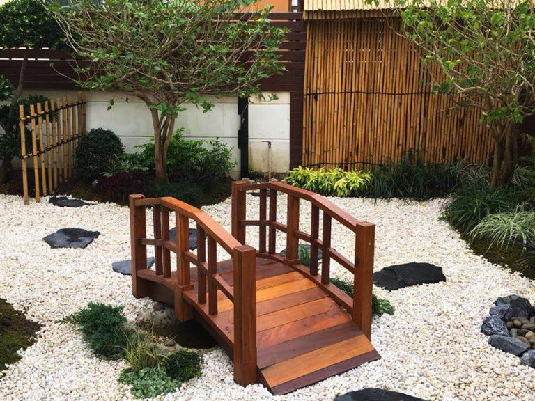 จัดสวนหย่อมญี่ปุ่น